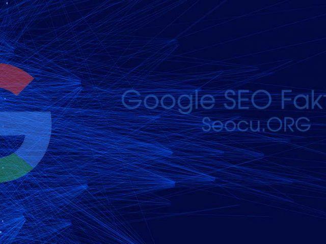 SEO (Arama Motoru Optimizasyonu) Google SEO Faktorleri